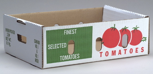 20 lb Tomato Box body (Printed)